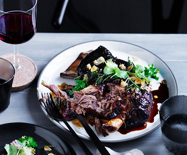 "**[Rick Shores' slow roasted lamb shoulder with yellow bean, cumin and chilli](https://www.gourmettraveller.com.au/recipes/chefs-recipes/rick-shores-slow-roasted-lamb-shoulder-with-yellow-bean-cumin-and-chilli-9274|target=""_blank""