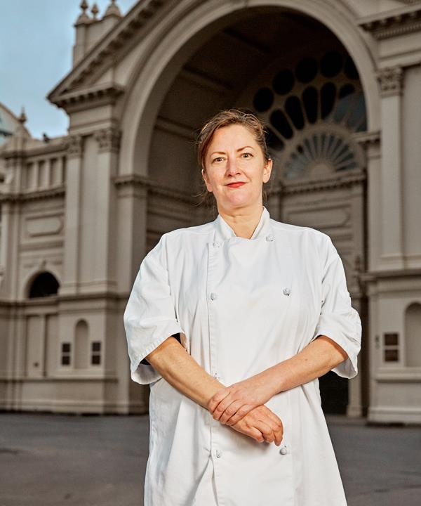 Pastry chef Philippa Sibley.