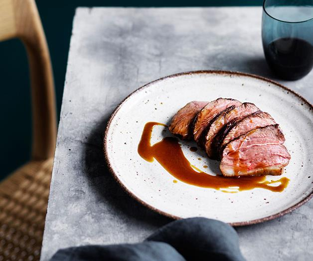"**[Daniel Puskas' dry-aged lamb rump with caramelised pumpkin juice](https://www.gourmettraveller.com.au/recipes/chefs-recipes/daniel-puskas-dry-aged-lamb-rump-with-caramelised-pumpkin-juice-8516|target=""_blank""|rel=""nofollow"")**"