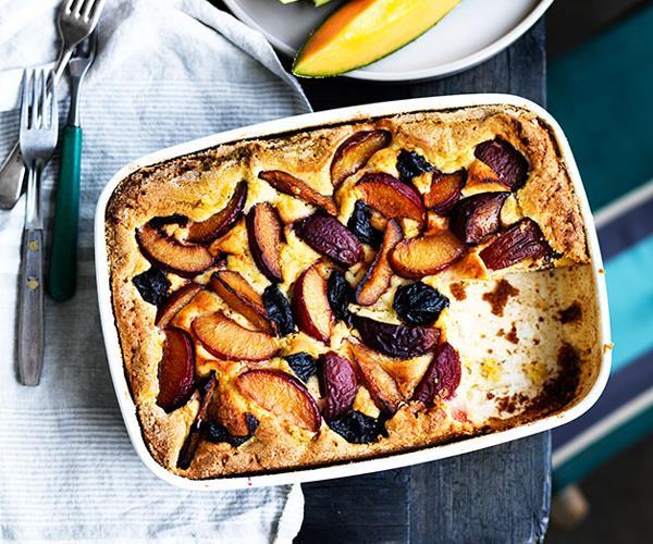 "**[René Redzepi & Nadine Levy Redzepi's brandy plum cake](https://www.gourmettraveller.com.au/recipes/chefs-recipes/brandy-plum-cake-8383|target=""_blank""|rel=""nofollow"")**"