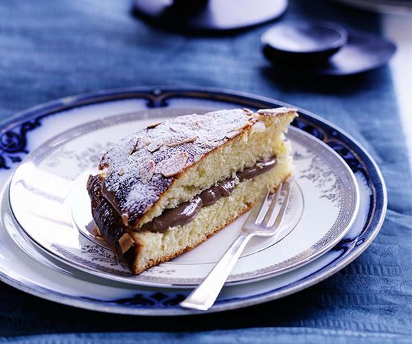 "[**Chocolate Tropézienne**](https://www.gourmettraveller.com.au/recipes/browse-all/chocolate-tropezienne-10085|target=""_blank"")"