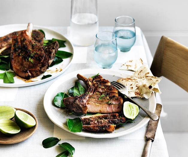 "**[Momofuku Seiobo's jerk pork chop with lime](https://www.gourmettraveller.com.au/recipes/chefs-recipes/momofuku-seiobos-jerk-pork-chop-with-lime-9258|target=""_blank""|rel=""nofollow"")**"