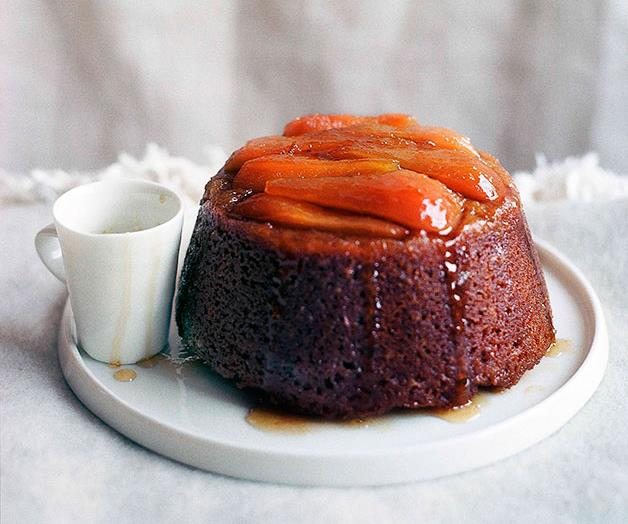 """**[Steamed pear and ginger pudding](https://www.gourmettraveller.com.au/recipes/browse-all/steamed-pear-and-ginger-pudding-9744