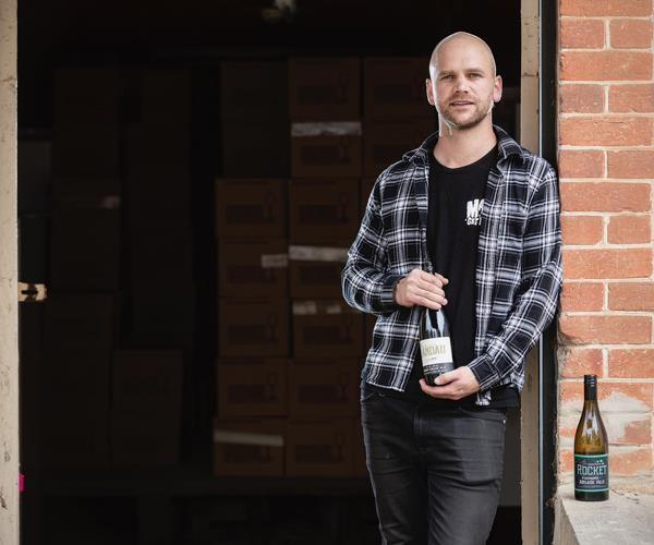 Michael Downer, winemaker at Murdoch Hill in the Adelaide Hills region.
