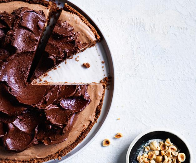 "**[Chocolate ricotta cake](https://www.gourmettraveller.com.au/recipes/browse-all/chocolate-ricotta-cake-12753|target=""_blank""