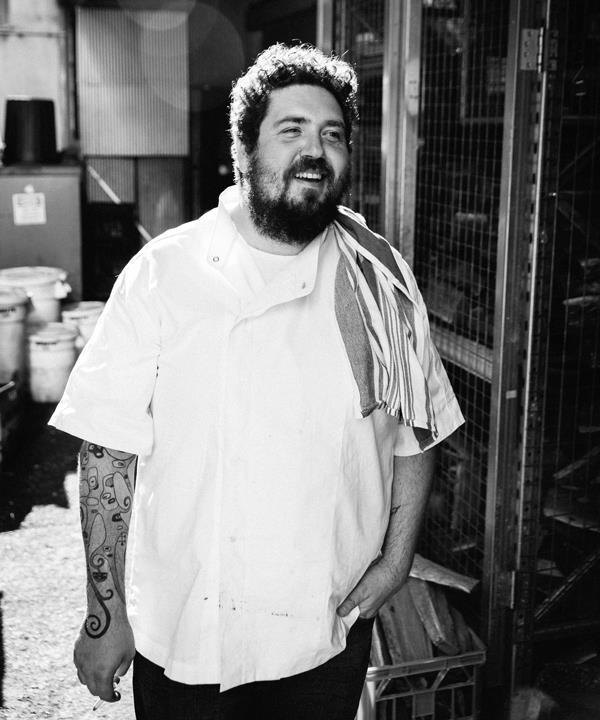 Africola chef-owner Duncan Welgemoed.