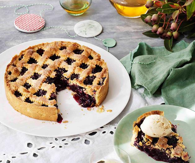 "**[Blueberry crostata with hazelnut ice-cream](https://www.gourmettraveller.com.au/recipes/browse-all/blueberry-crostata-with-hazelnut-ice-cream-11172|target=""_blank"")**"