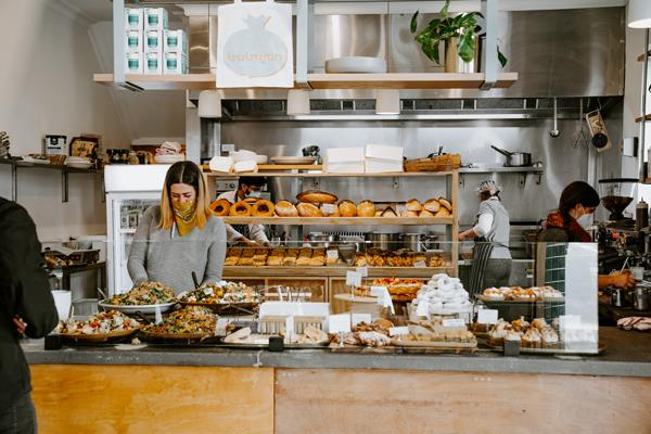 Just before Melbourne's stage-four restriction came into effect in August, Kirsty Chaiplias converted her eatery into a takeaway-only space.