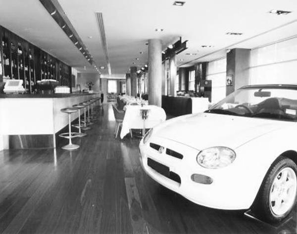MG Garage.