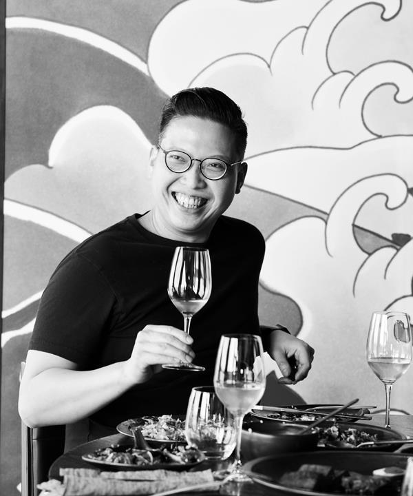 Victor Liong, chef-owner of Melbourne's Lee Ho Fook.