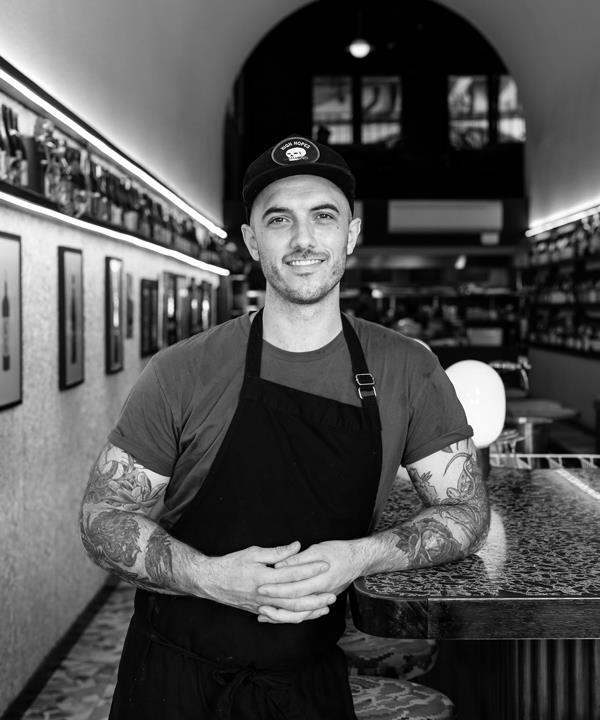 Nathan Sasi, co-owner of Adelaide's Leigh Street Wine Room.