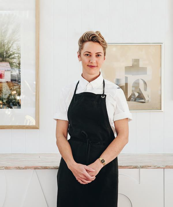 Alanna Sapwell, chef-owner of pop-up restaurant Esmay in Noosal