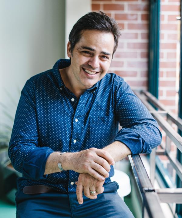 Eugenio Maiale, chef and co-owner of Sydneys' A Tavola.