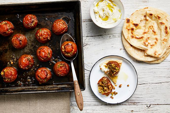 """**[Slow-baked Moroccan Kumato tomatoes](https://www.perfection.com.au/recipe/slow-baked-moroccan-kumato-tomatoes/