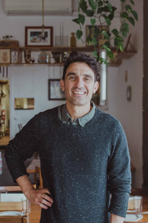 Bar Idda owner Alfredo La Spina.