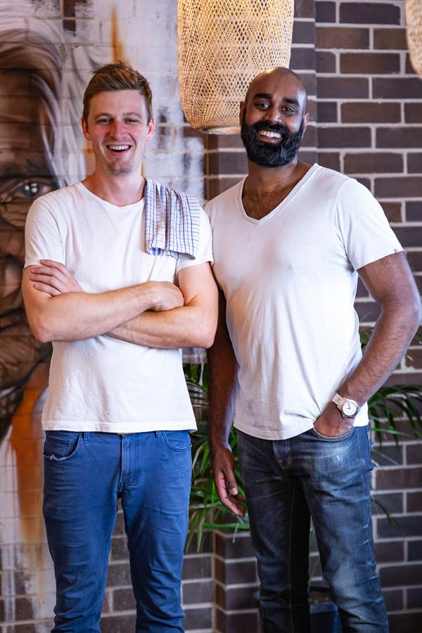 Colombo Social co-owners Peter Jones-Best (left) and Shaun Christie-David.