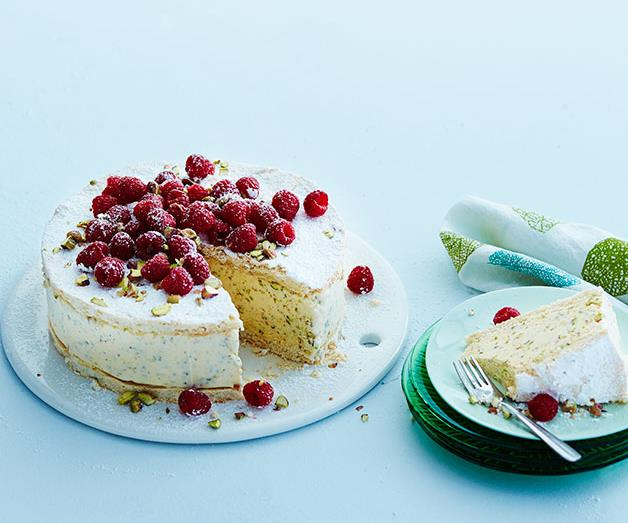 "[**Pistachio vacherin**](https://www.gourmettraveller.com.au/recipes/browse-all/pistachio-vacherin-12319|target=""_blank"")"