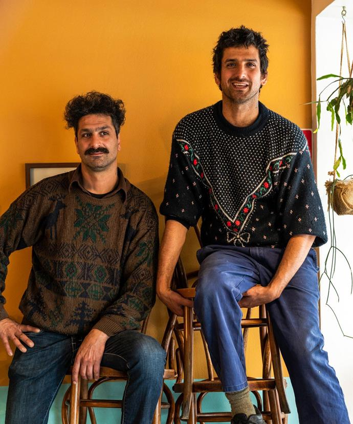 Hady and Jad Choucair, brothers and co-owners of Mankoushe.