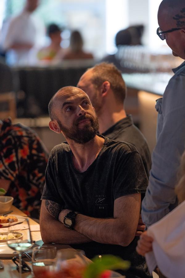 Federico Zanellato, chef-owner of Sydney's LuMi.