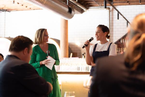 Q&A with Joanna Hunkin and Nomad executive chef Jacqueline Challinor.