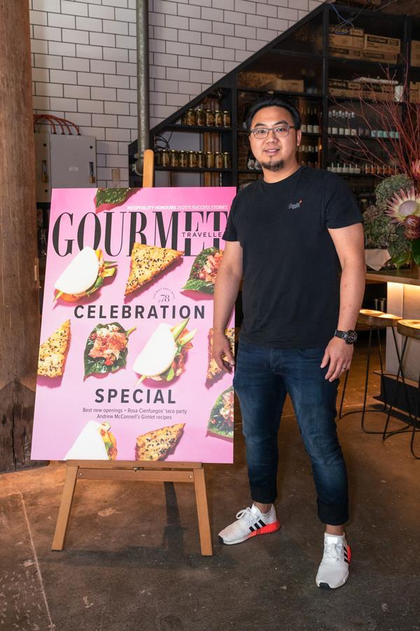 Junda Khoo, chef and co-owner of Sydney's Ho Jiak restaurants.