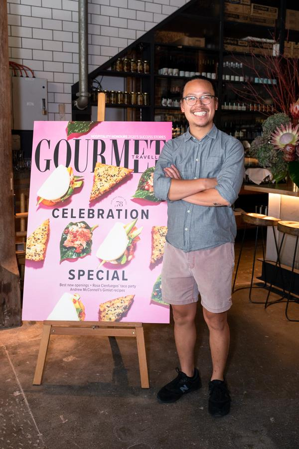 Michael Chiem, owner and bartender, PS40, Sydney.