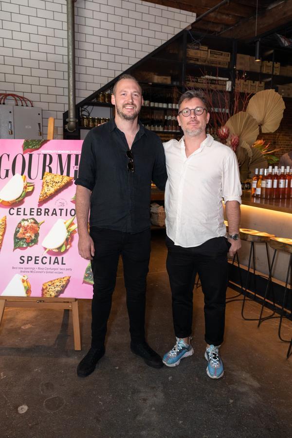 Ragazzi's Scott McComas-Williams (chef and co-owner) and Matt Swieboda (co-owner), Sydney.