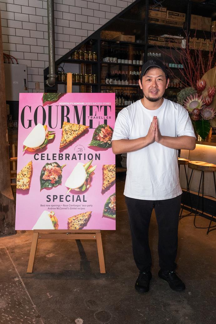 Chase Kojima, executive chef of Sydney's Sokyo.