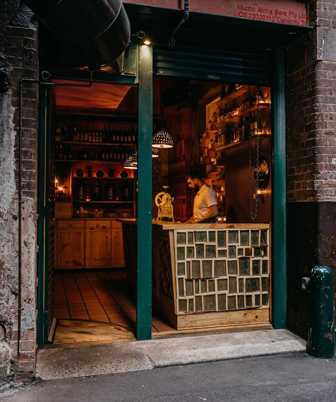 Under COVID regulations, Sydney's Cantina OK! can accommodate just four patrons at a time.