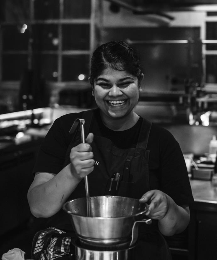 Firedoor junior sous-chef Ahana Dutt.