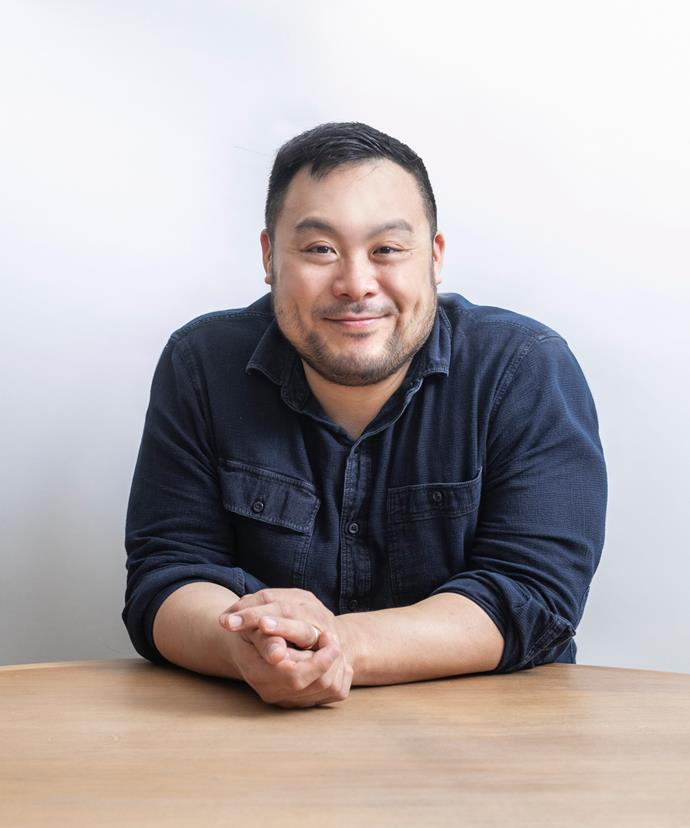 David Chang, chef, restaurateur and author of his memoir *Eat a Peach*.