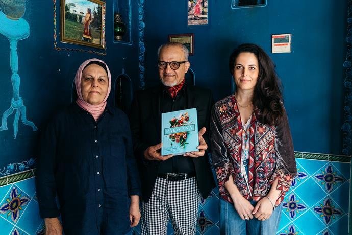 Parwana Afghan Kitchen's Farida Ayubi, Zelmai Ayubi and Durkhanai Ayubi.