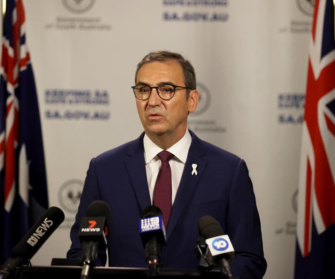 South Australian Premier Steven Marshall announces the statewide lockdown will lift three days earlier than scheduled.