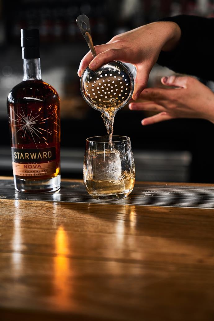 """[**Tawny old fashioned**](https://starward.com.au/pages/cocktails-nova