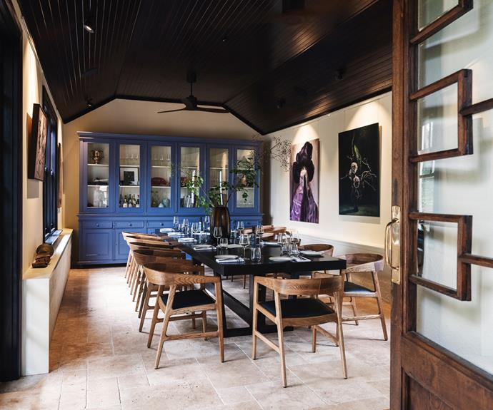 Tedesca Osteria's welcoming dining room.
