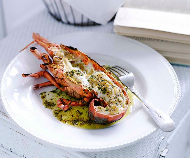 "**[Grilled lobster with mustard and burnt butter](https://www.gourmettraveller.com.au/recipes/browse-all/grilled-lobster-with-mustard-and-burnt-butter-9991|target=""_blank"")**"