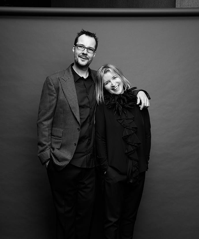 Society's Martin Benn and Vicki Wild.