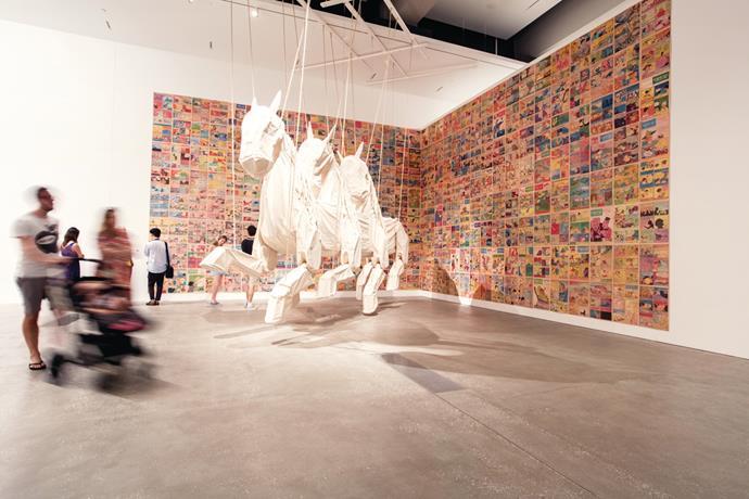 Brisbane's Gallery of Modern Art.