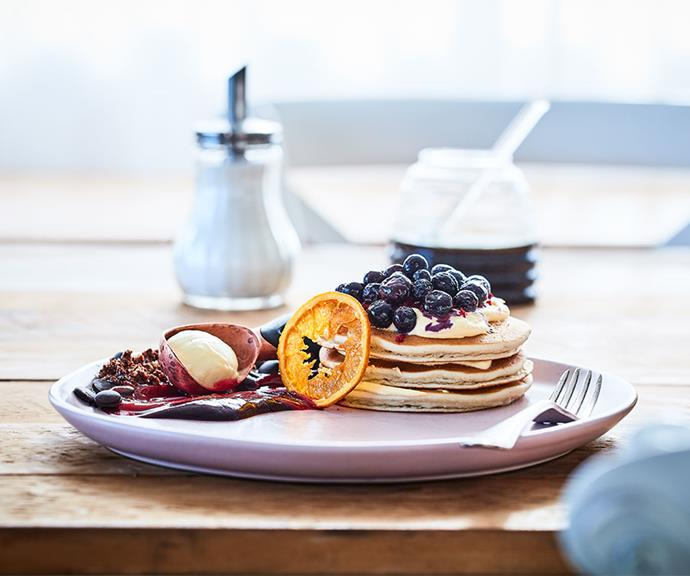 """[Blueberry and mascarpone pancake stack](https://marcels.co.nz/Recipes/Blueberry-Mascarpone-Pancake-Stack?utm_source=australia-womens-weekly&utm_medium=disp-banner&utm_campaign=marcels-recipes&utm_content=website