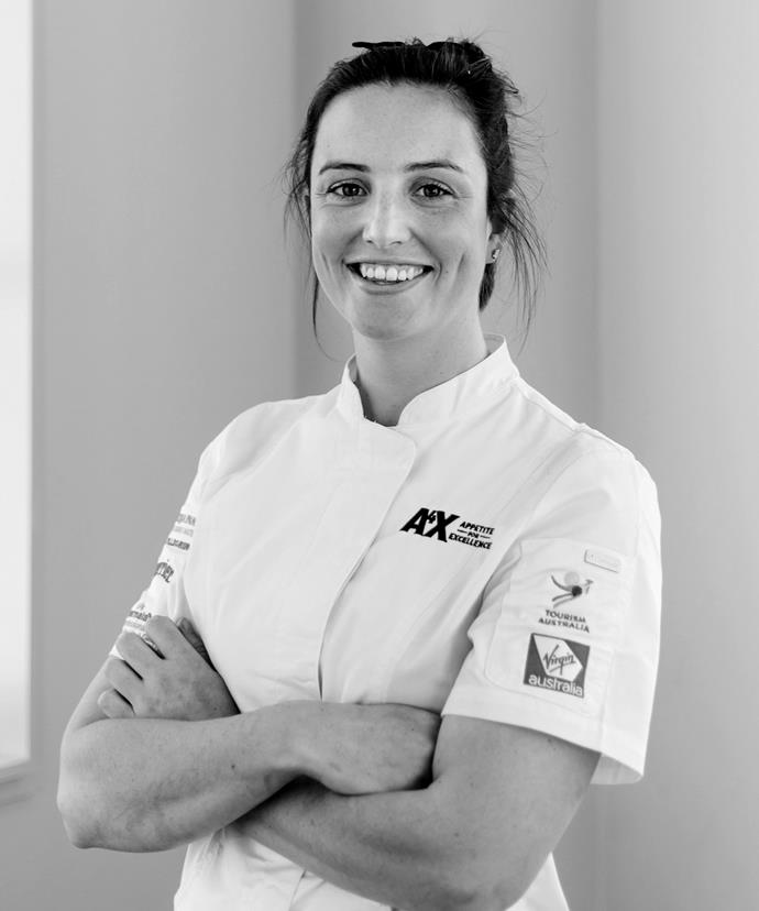 Bianca Johnston, sous chef at Tom McHugo's, Hobart.