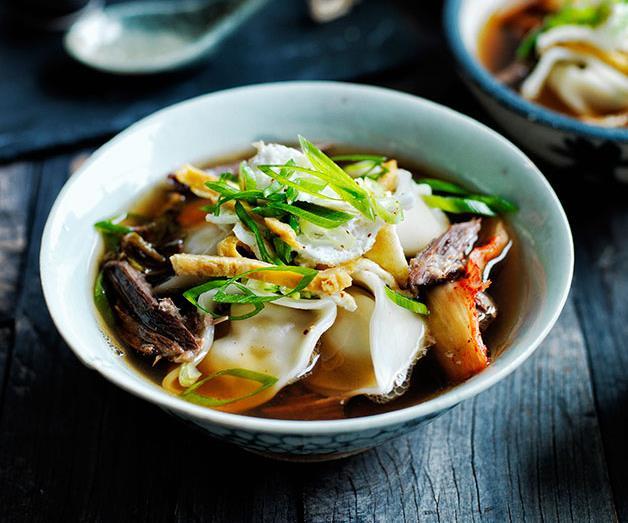 "**[Kimchi mandu in broth](https://www.gourmettraveller.com.au/recipes/browse-all/kimchi-mandu-in-broth-12012|target=""_blank"")**"