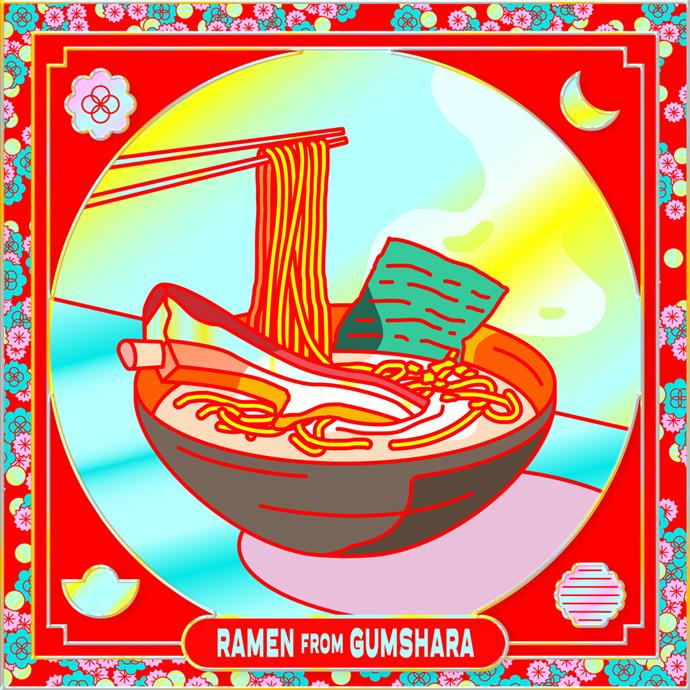 *Secret Snacks*: Ramen with Pork Spare Rib; 2021; designed by More of Something Good; commissioned by 4A Centre for Contemporary Asian Art; courtesy the artists.