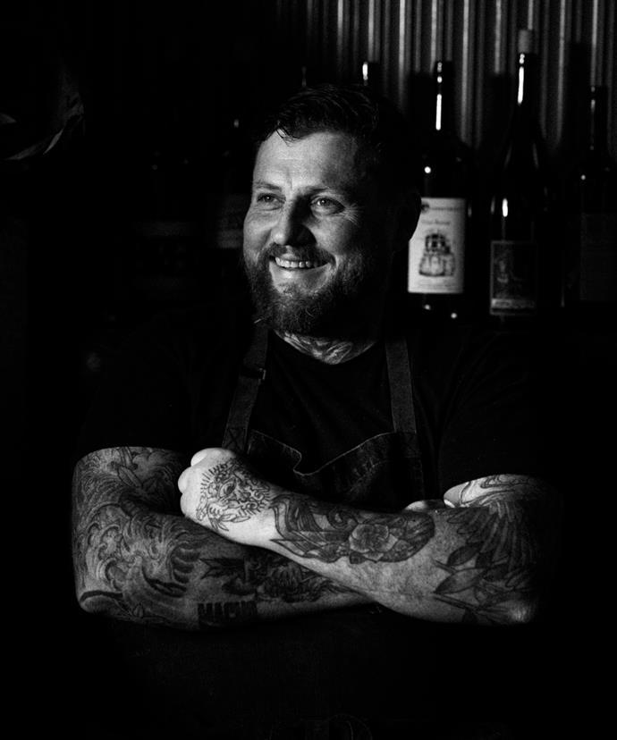 Chef Paul Bentley.
