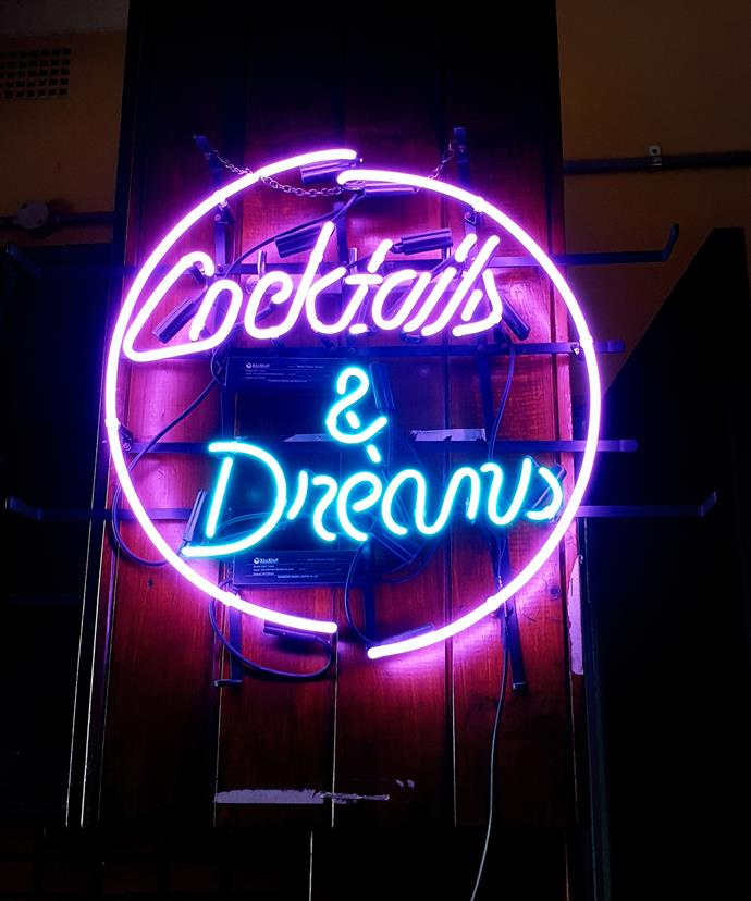 Cocktails and dreams are on the menu at Porcine.