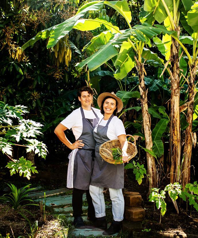 Oaks kitchen & Garden's Ben Wallace and Rachael Boon in 2019.