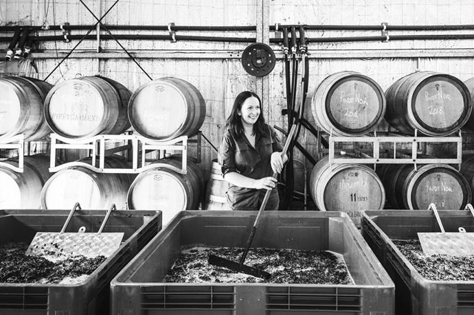 Stephanie Helm, head winemaker at the Vintner's Daughter.