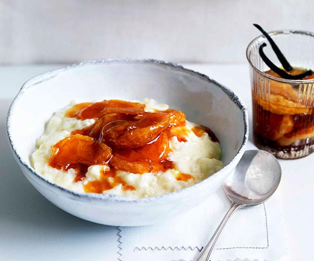 "[**Rice pudding with vanilla and caramelised mandarin compote**](https://www.gourmettraveller.com.au/recipes/browse-all/rice-pudding-with-vanilla-and-caramelised-mandarin-compote-11006|target=""_blank"")"