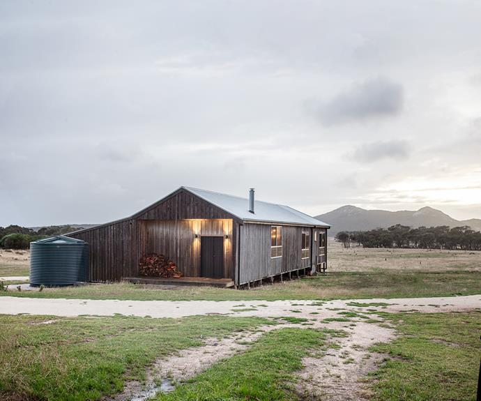 Wombat Lodge is surrounded by Quoin Farm, Killiecrankie.