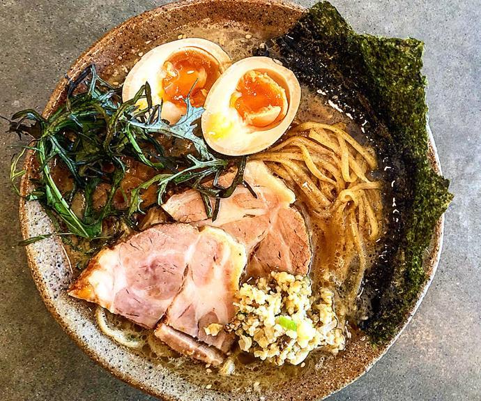 Roco's pork tokusei ramen.