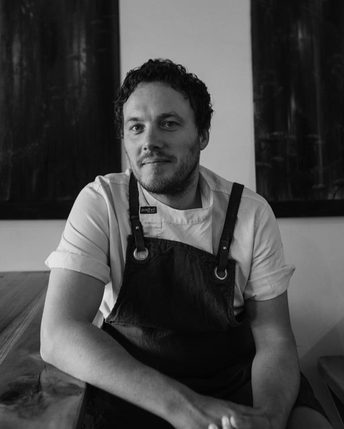 Alex Davies, chef and owner of Gatherings.